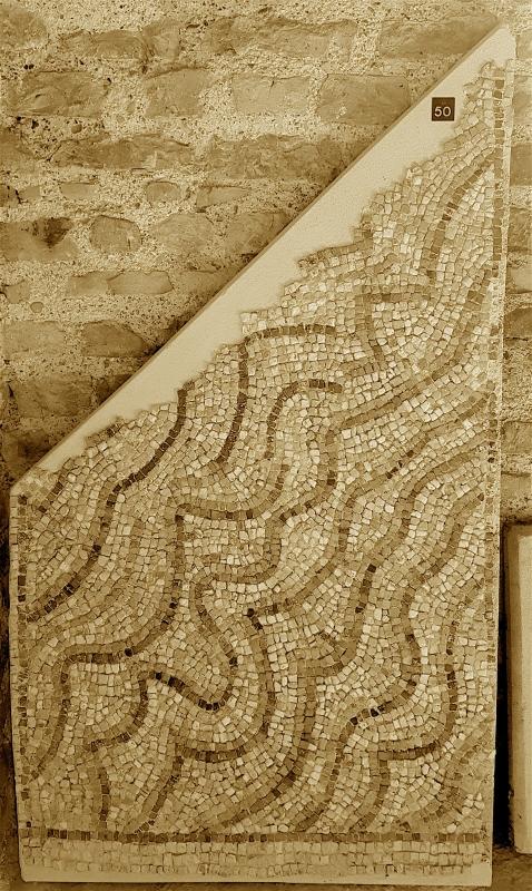 Chiesa di San Salvatore ad Chalchis cosiddetto Palazzo di Teodorico dettaglio musivo - Opi1010 - Ravenna (RA)