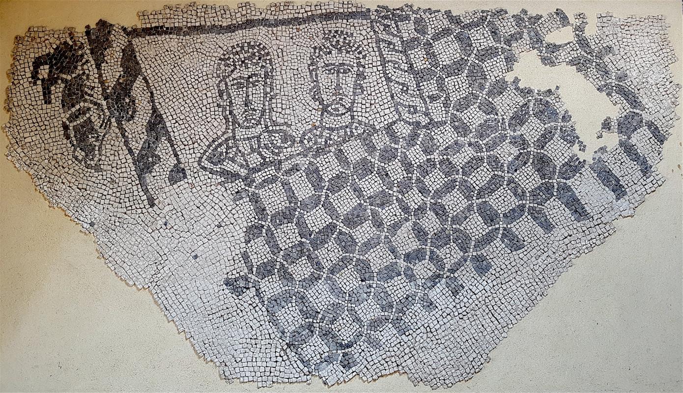 Chiesa di San Salvatore ad Chalchis cosiddetto Palazzo di Teodorico dettaglio pavimento musivo3 - Opi1010 - Ravenna (RA)
