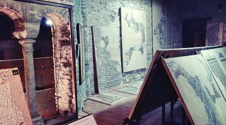 Interno del cosiddetto palazzo di Teodorico - Archeologia91 - Ravenna (RA)