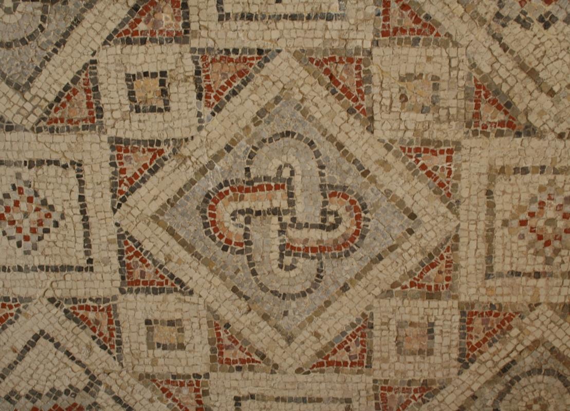 Palazzo di Teodorico - Mosaico piano inferiore 2 - Walter manni - Ravenna (RA)