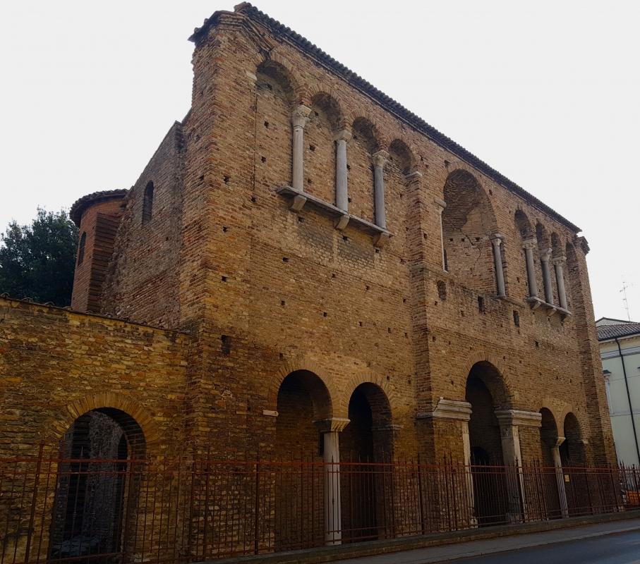 Chiesa di San Salvatore ad Chalchis cosiddetto Palazzo di Teodorico facciata - Opi1010 - Ravenna (RA)