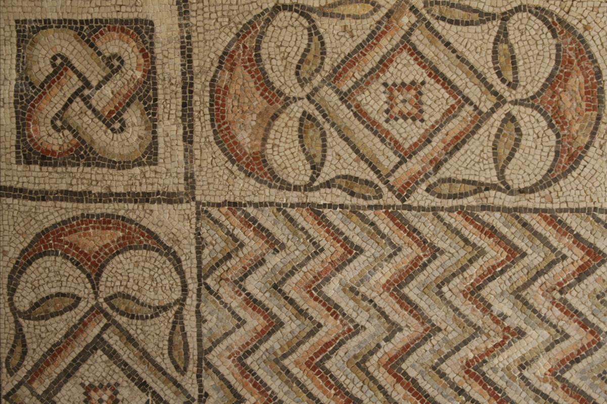 Palazzo di Teodorico - Mosaico piano inferiore - Walter manni - Ravenna (RA)