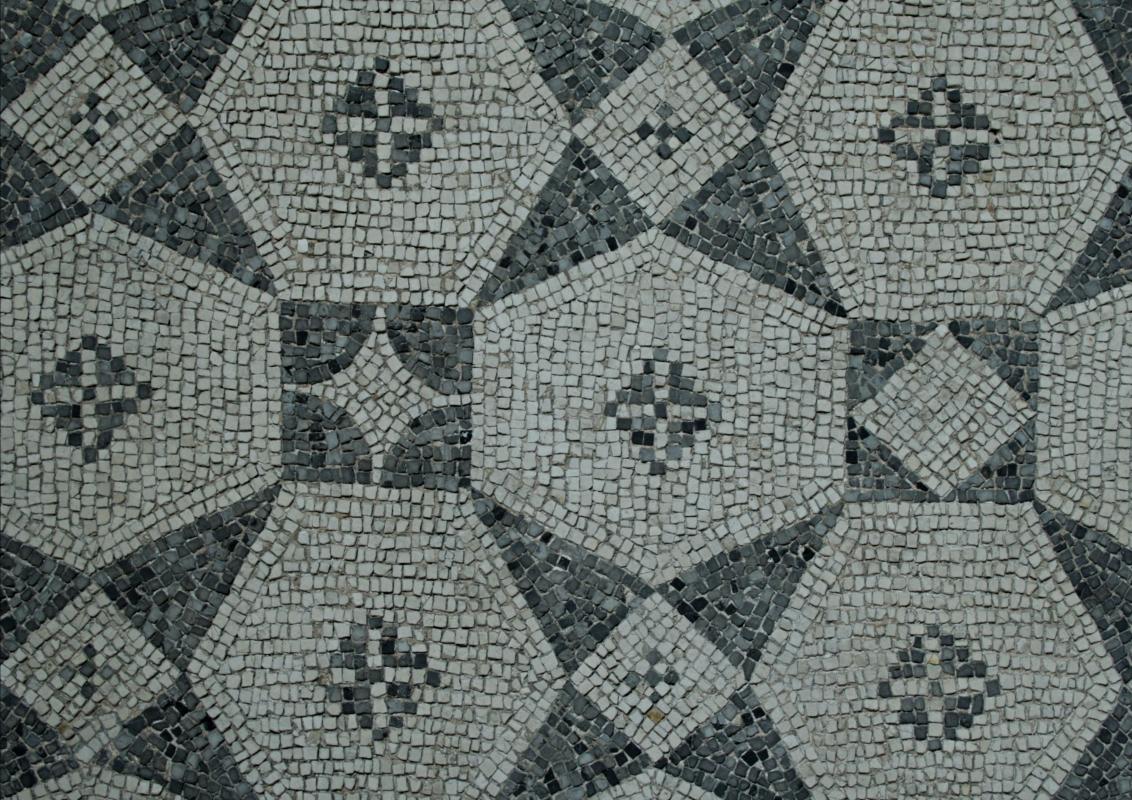 Palazzo di Teodorico - Mosaico piano superiore 9 - Walter manni - Ravenna (RA)