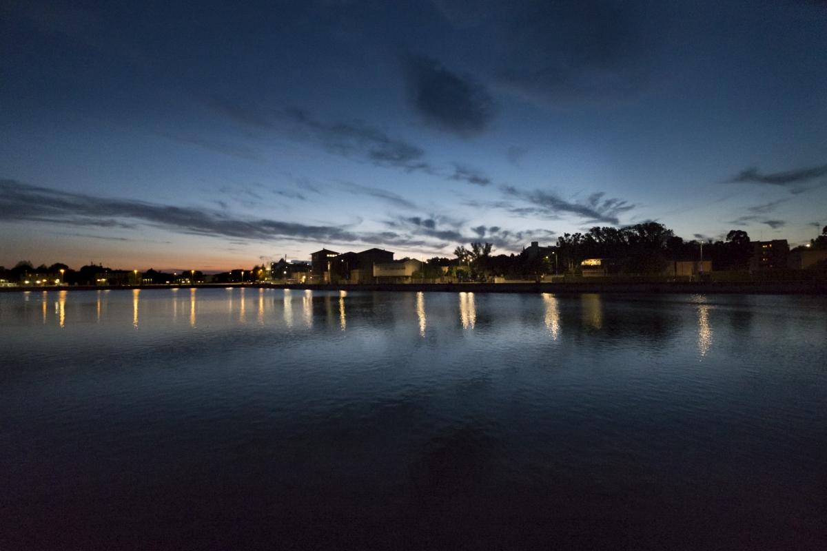 Vista al tramonto - Domenico Bressan - Ravenna (RA)