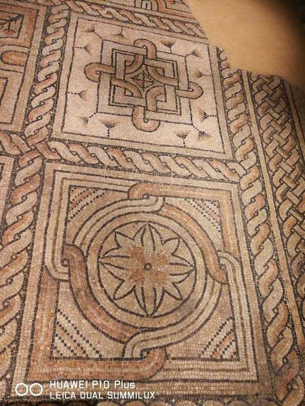 Domus dei tappeti di pietra - fiori stilizzati e geometrie perfette - LadyBathory1974 - Ravenna (RA)