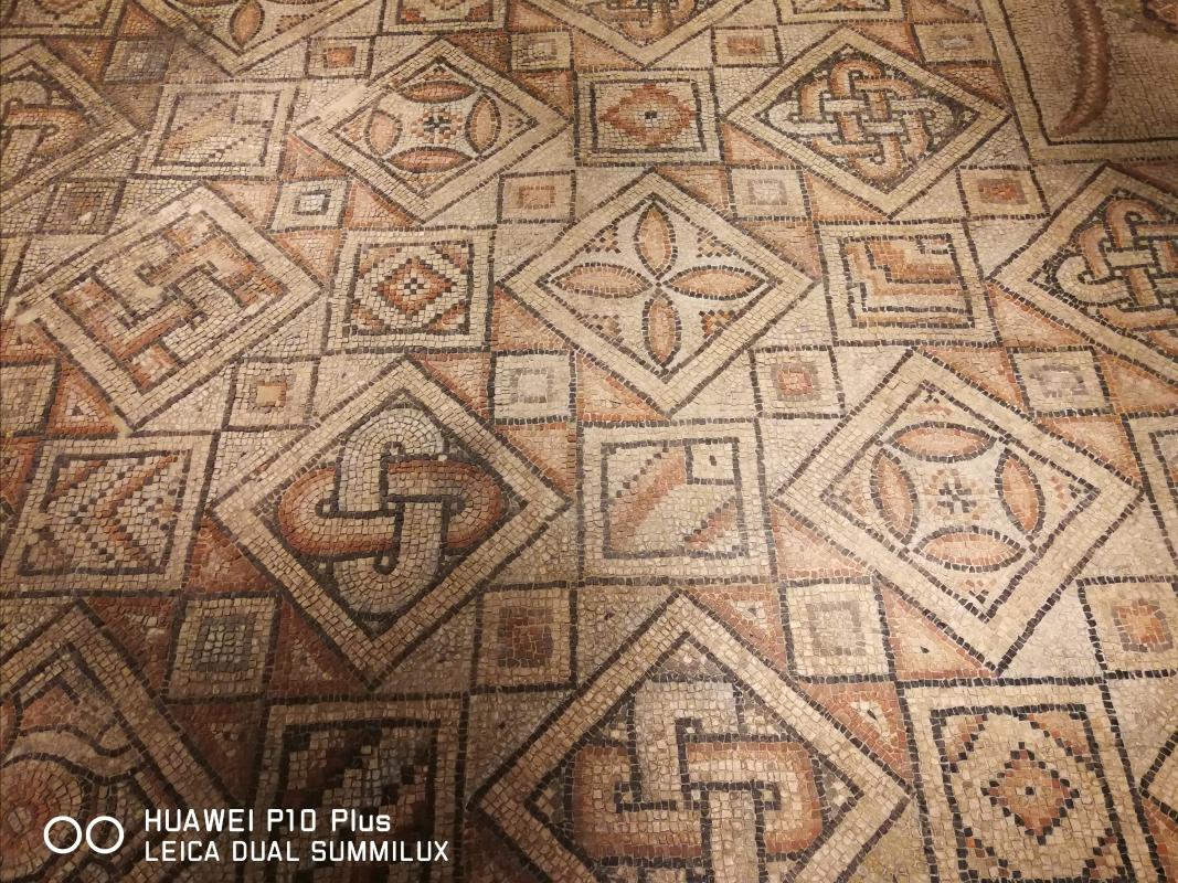 Domus dei tappeti di pietra - particolare del tappeto della Danza delle quattro stagioni - LadyBathory1974 - Ravenna (RA)