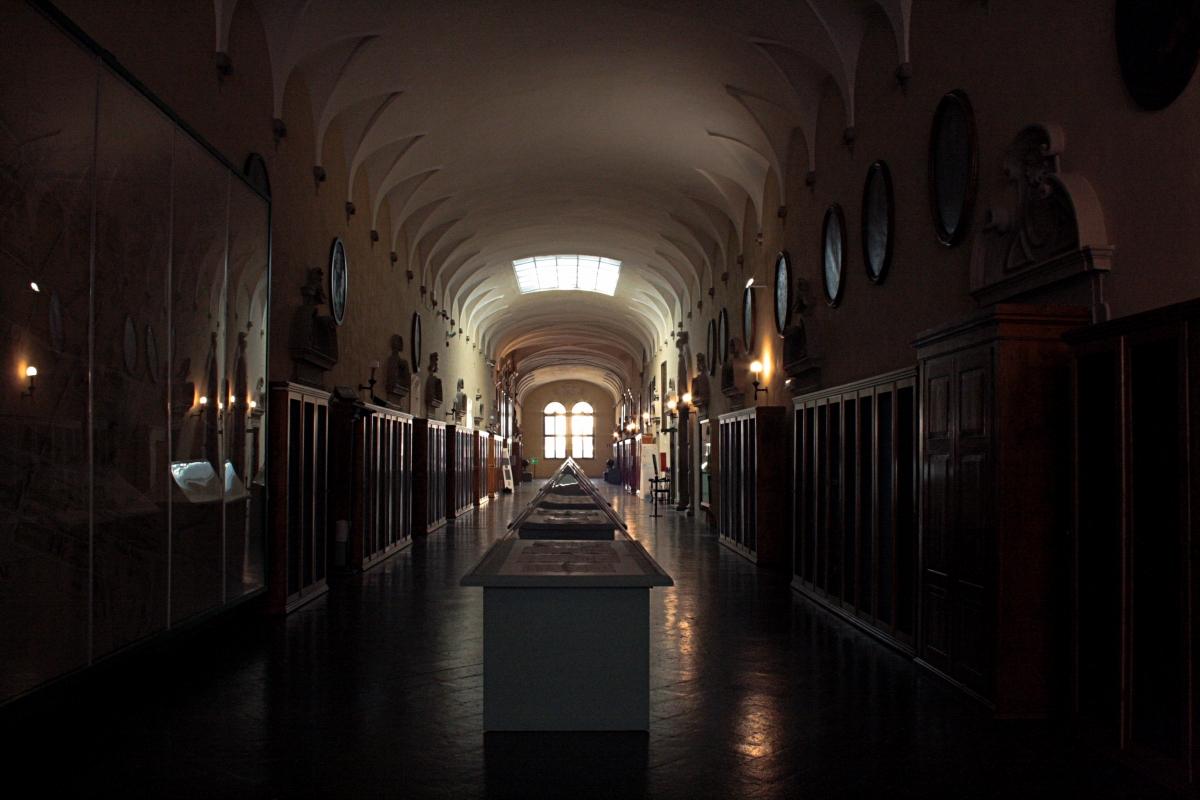 Biblioteca Classense - piano superiore - Walter manni - Ravenna (RA)