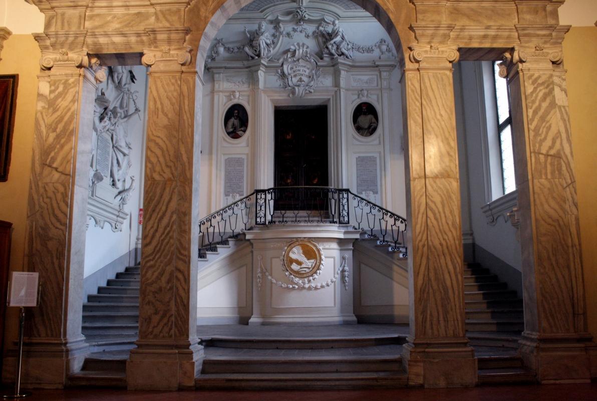 Biblioteca Classense - piano superiore scala 1 - Walter manni - Ravenna (RA)