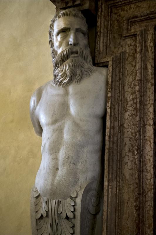 Statua all'ingresso del refettorio - Domenico Bressan - Ravenna (RA)