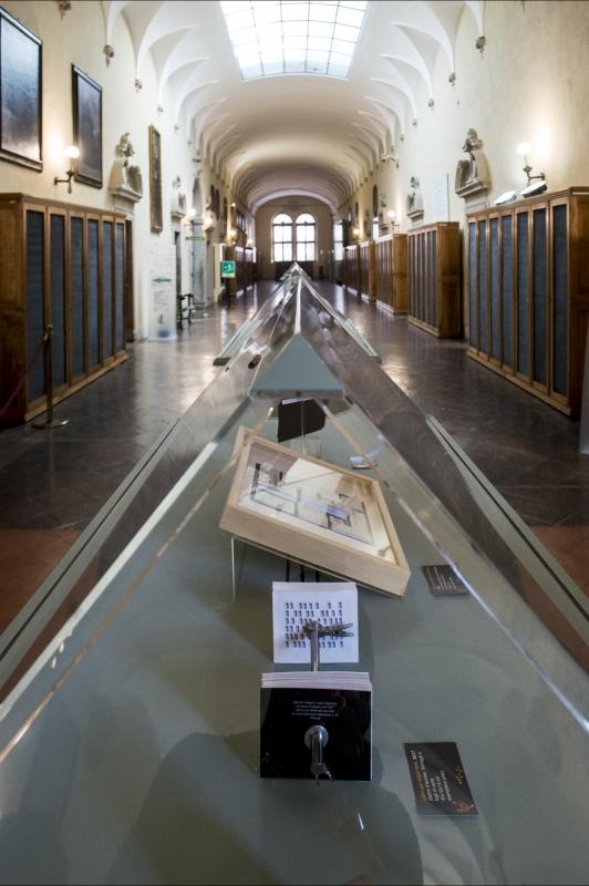 Corridoio e teche - Domenico Bressan - Ravenna (RA)