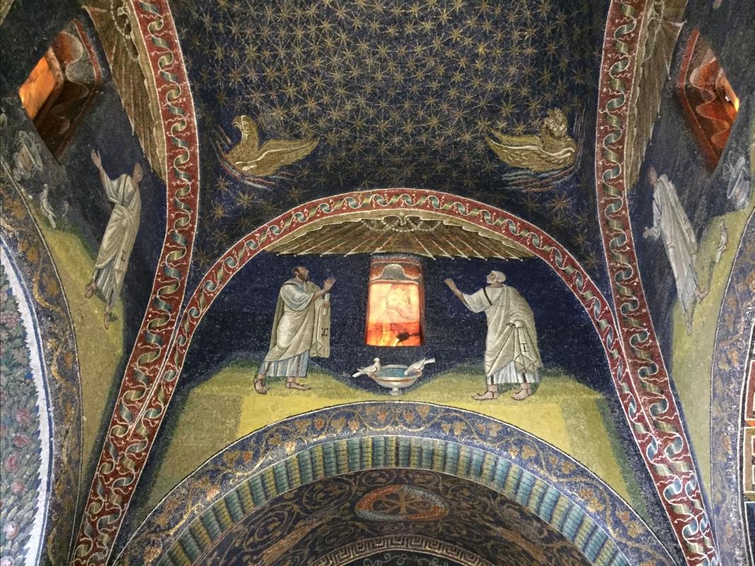 GallaPlacidia mosaico evangelistas - Hispalois - Ravenna (RA)