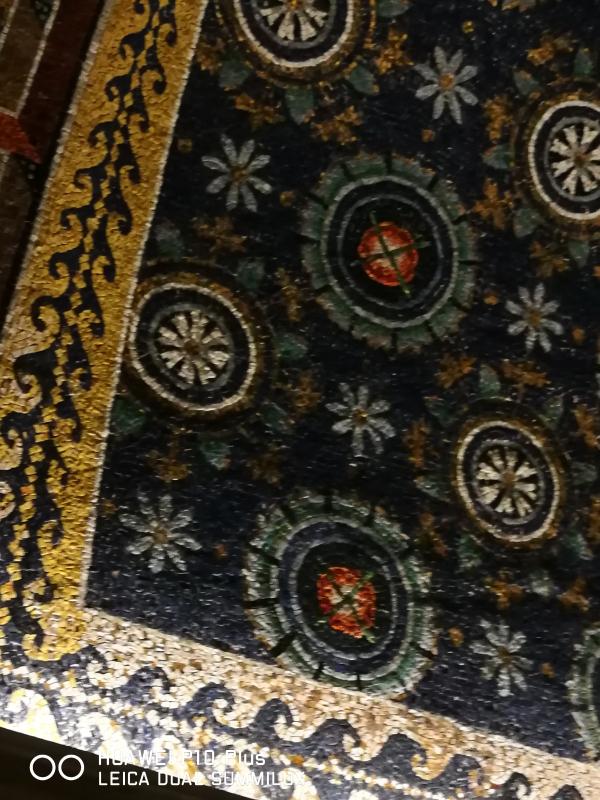 Mausoleo di Galla Placidia - particolare stelle - LadyBathory1974 - Ravenna (RA)