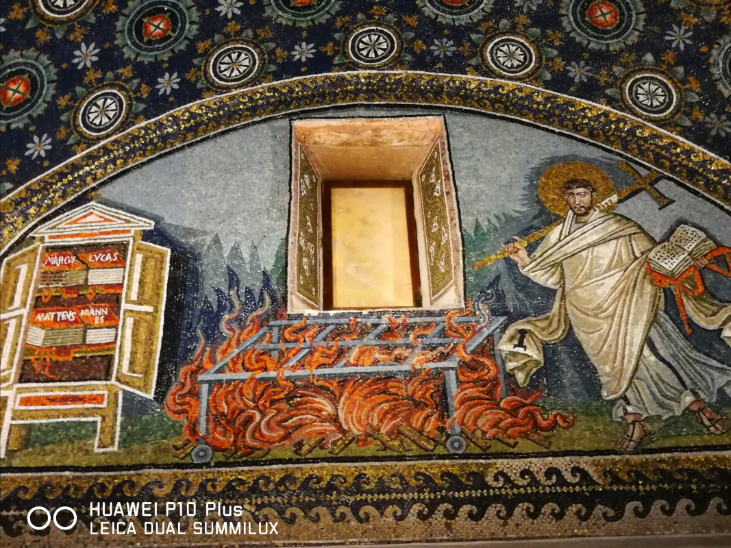 Mausoleo di Galla Placidia - martirio San Lorenzo - LadyBathory1974 - Ravenna (RA)