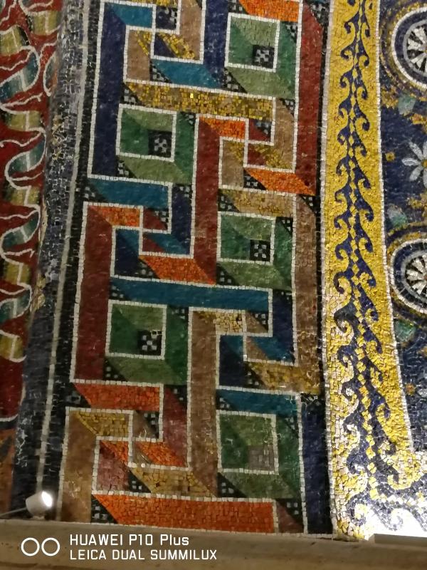 Mausoleo di Galla Placidia - particolare decorazione policroma - LadyBathory1974 - Ravenna (RA)