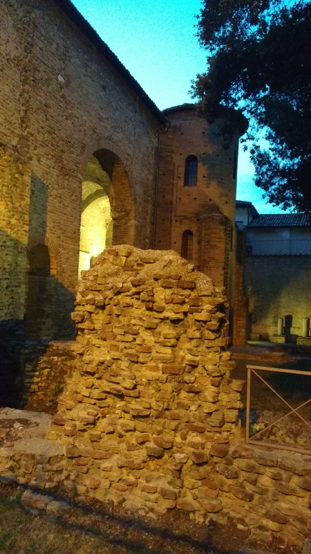 Palazzo Teodorico tramonto - Archeologia91 - Ravenna (RA)