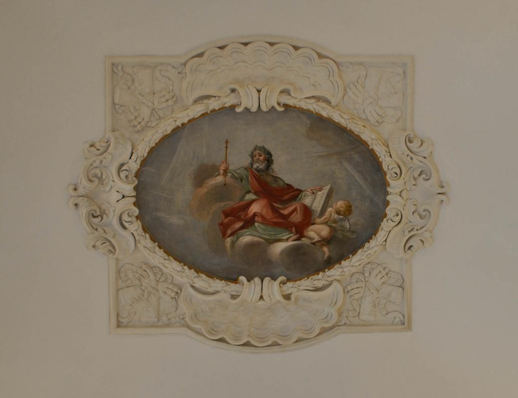 Palazzo Rasponi Dalle Teste affresco 03 - Nicola Quirico - Ravenna (RA)