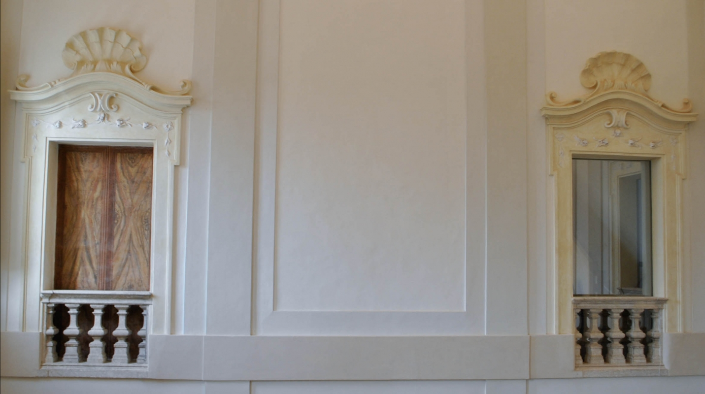 Palazzo Rasponi Dalle Teste (Ravenna) - finestre scalone 01 - Nicola Quirico - Ravenna (RA)