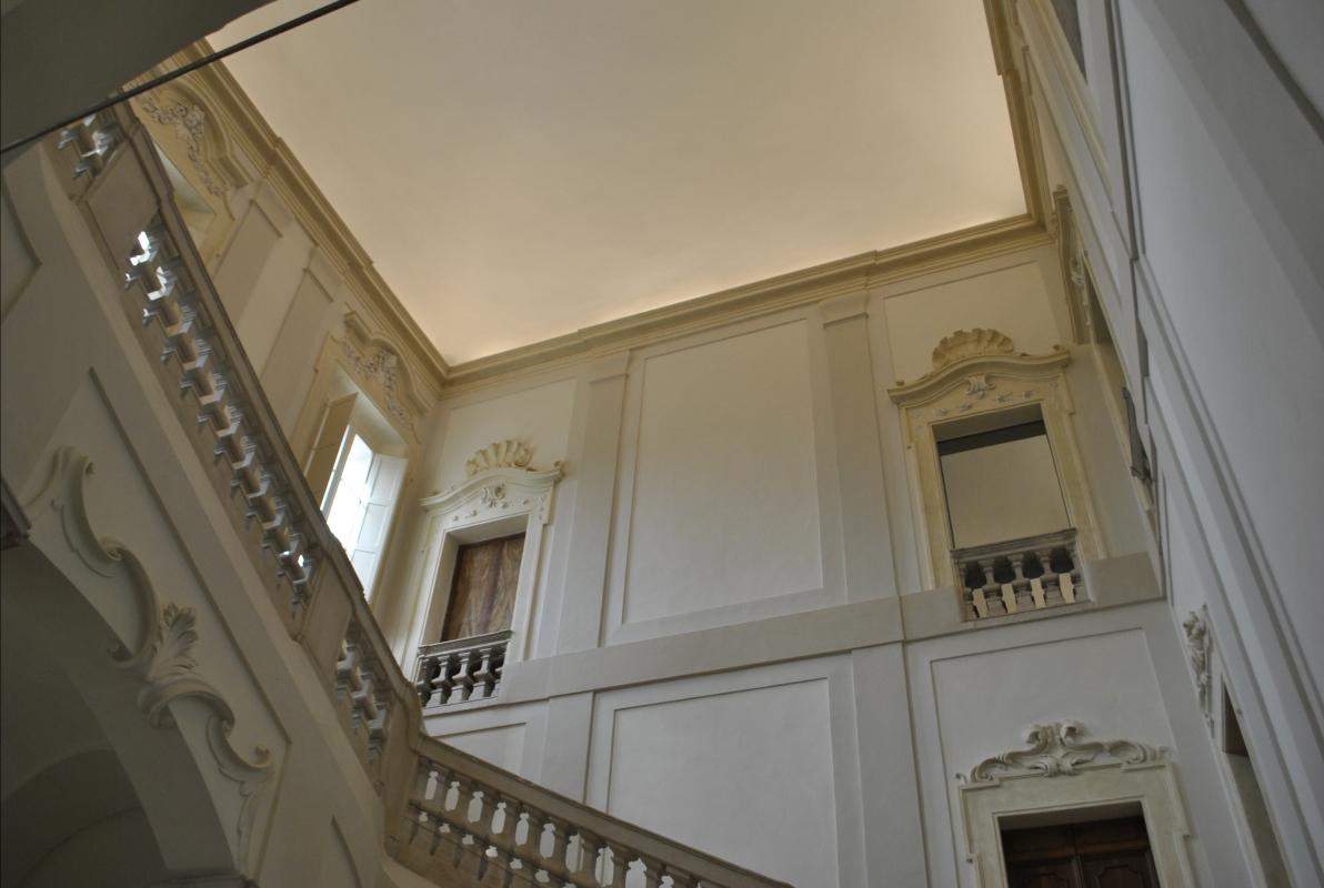 Palazzo Rasponi Dalle Teste scalone - Nicola Quirico - Ravenna (RA)