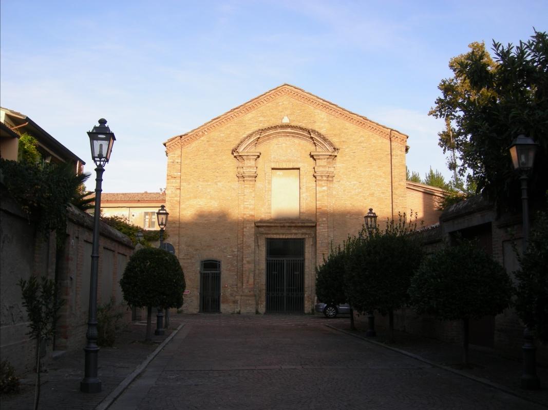 Chiesa Santa Chiara - Facciata (Ravenna) - Nicola Quirico - Ravenna (RA)