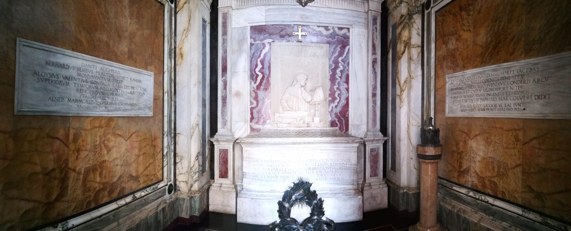 Tomba di Dante - panoramica interno - LadyBathory1974 - Ravenna (RA)
