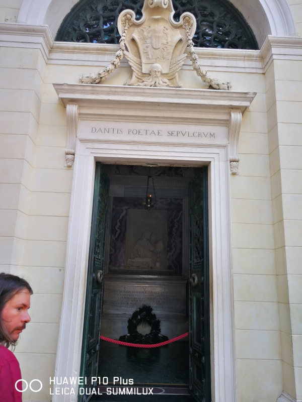 Tomba di Dante - ingresso - LadyBathory1974 - Ravenna (RA)