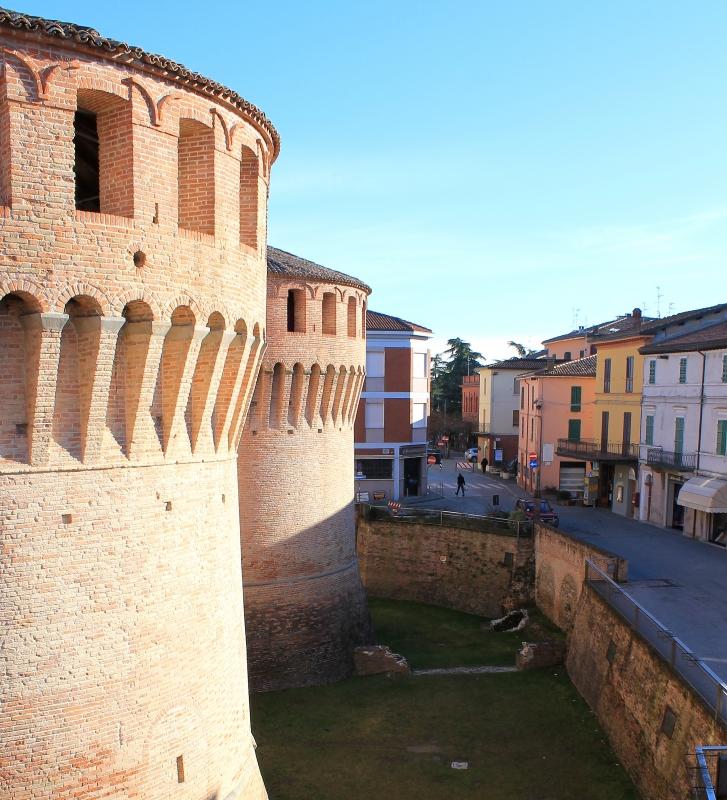 Piazza Mazzanti e Rocca Sforzesca - Marinaloconteciaranfi - Riolo Terme (RA)