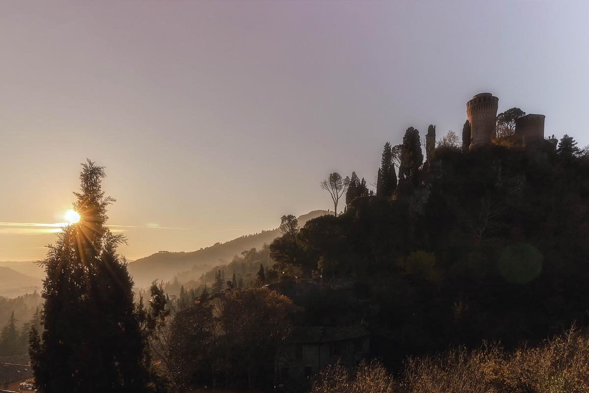 Sunset Skyline - Pz.ph - Brisighella (RA)