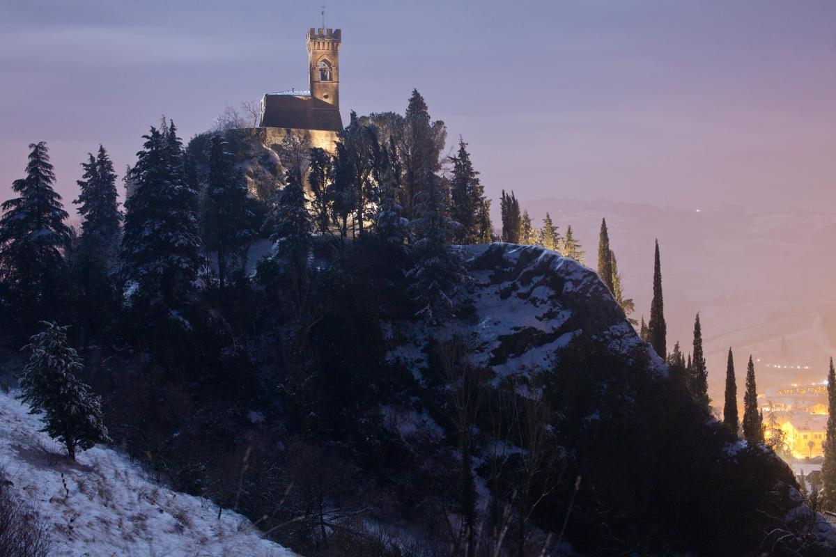 Torre dell'Orologio al chiaro di luna - UmbertoPaganiniPaganelli - Brisighella (RA)