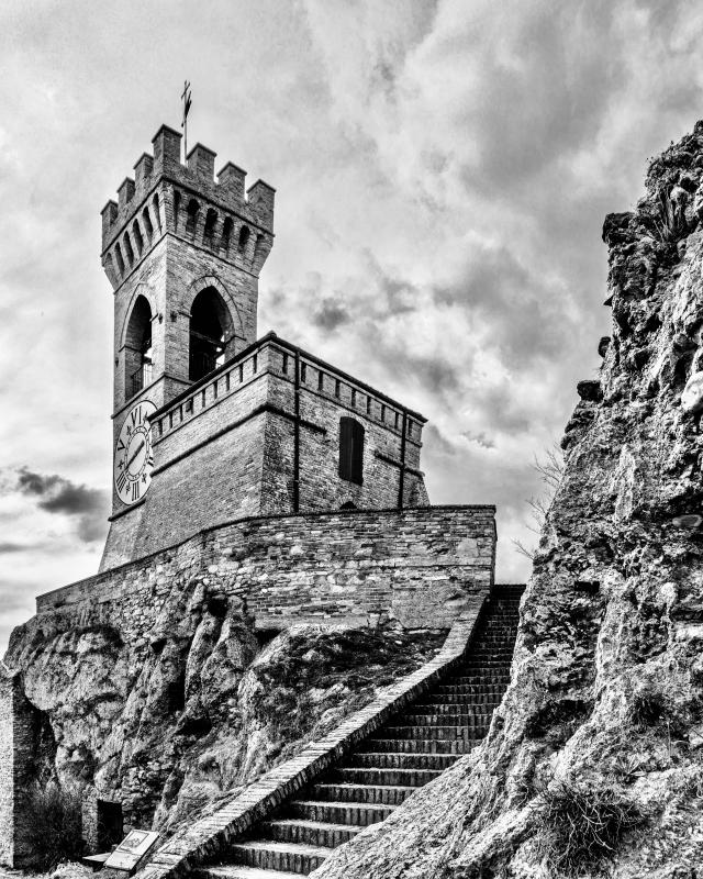 Brisighella - Torre dell'orologio - - Vanni Lazzari - Brisighella (RA)