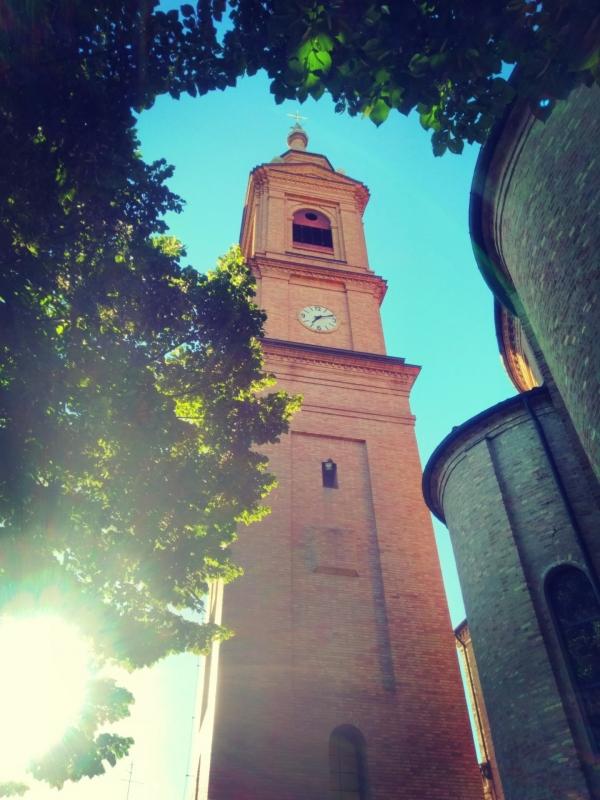 Campanile della Chiesa di Santo Stefano - Lomargraphics - Cotignola (RA)