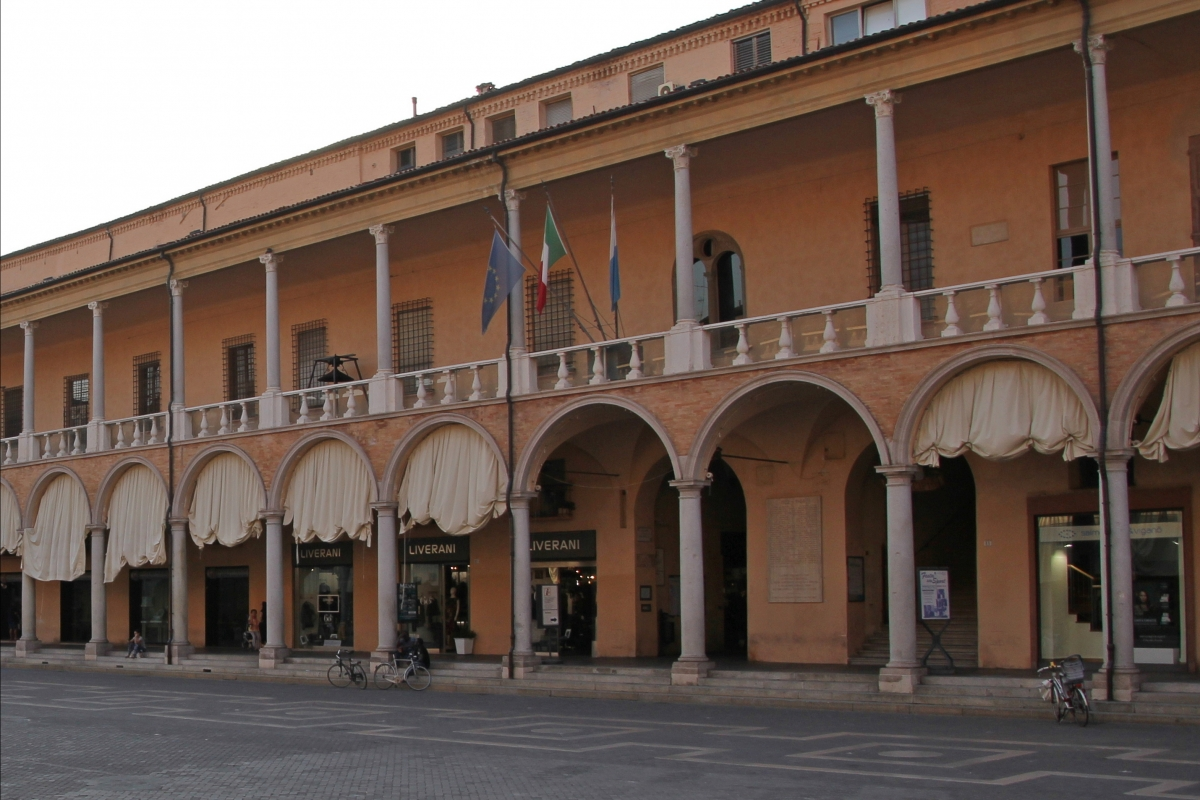 Faenza, palazzo comunale (01) - Gianni Careddu - Faenza (RA)