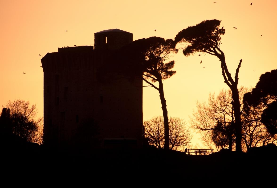 Torre al calar della sera - UmbertoPaganiniPaganelli - Faenza (RA)