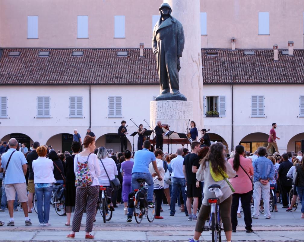 Baracca monumento concerto - Carlabergami59 - Lugo (RA)