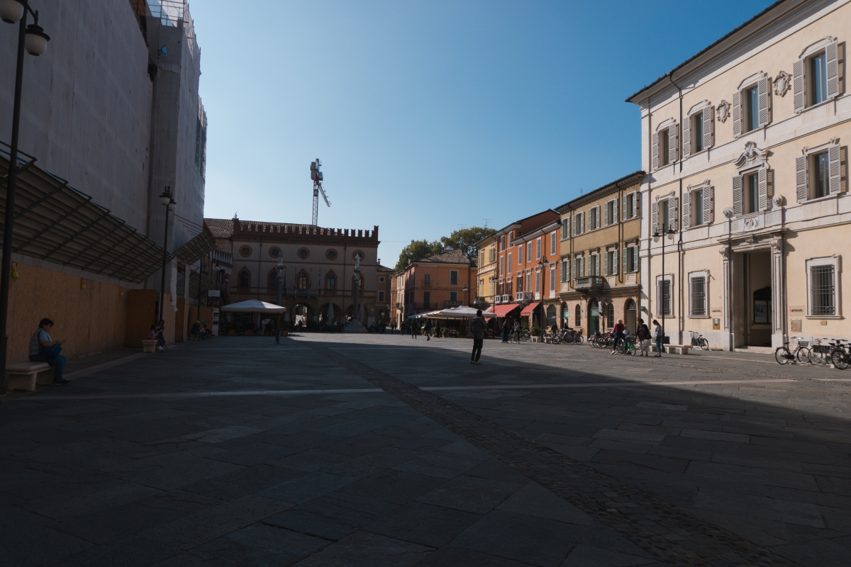 Piazza del popolo ravenna visione ampia - Federico Bragee - Ravenna (RA)