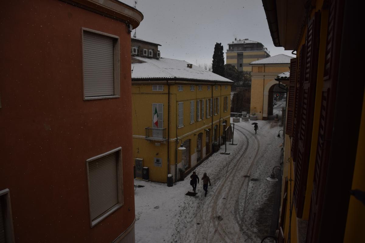 Porta Adriana sotto la neve foto di C.Grassadonia - Chiara.Ravenna - Ravenna (RA)