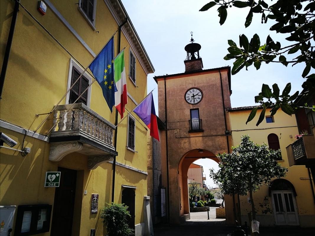 Torre civica (o Torre dell'Orologio) - Sant'Agata sul Santerno (RA) 5 - Enea Emiliani - Sant'Agata sul Santerno (RA)