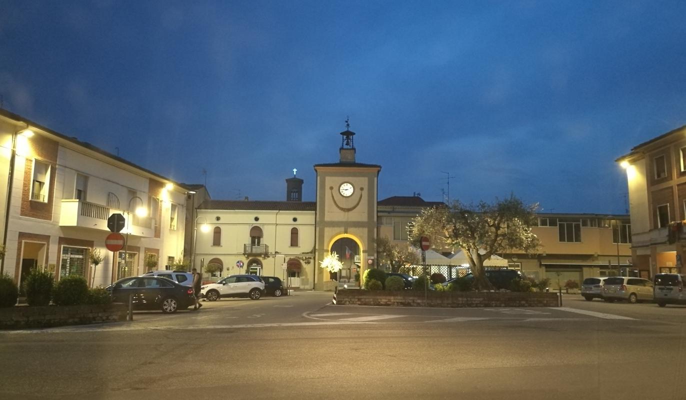 Torre civica (o Torre dell'Orologio) - Sant'Agata sul Santerno (RA) 3 - Enea Emiliani - Sant'Agata sul Santerno (RA)