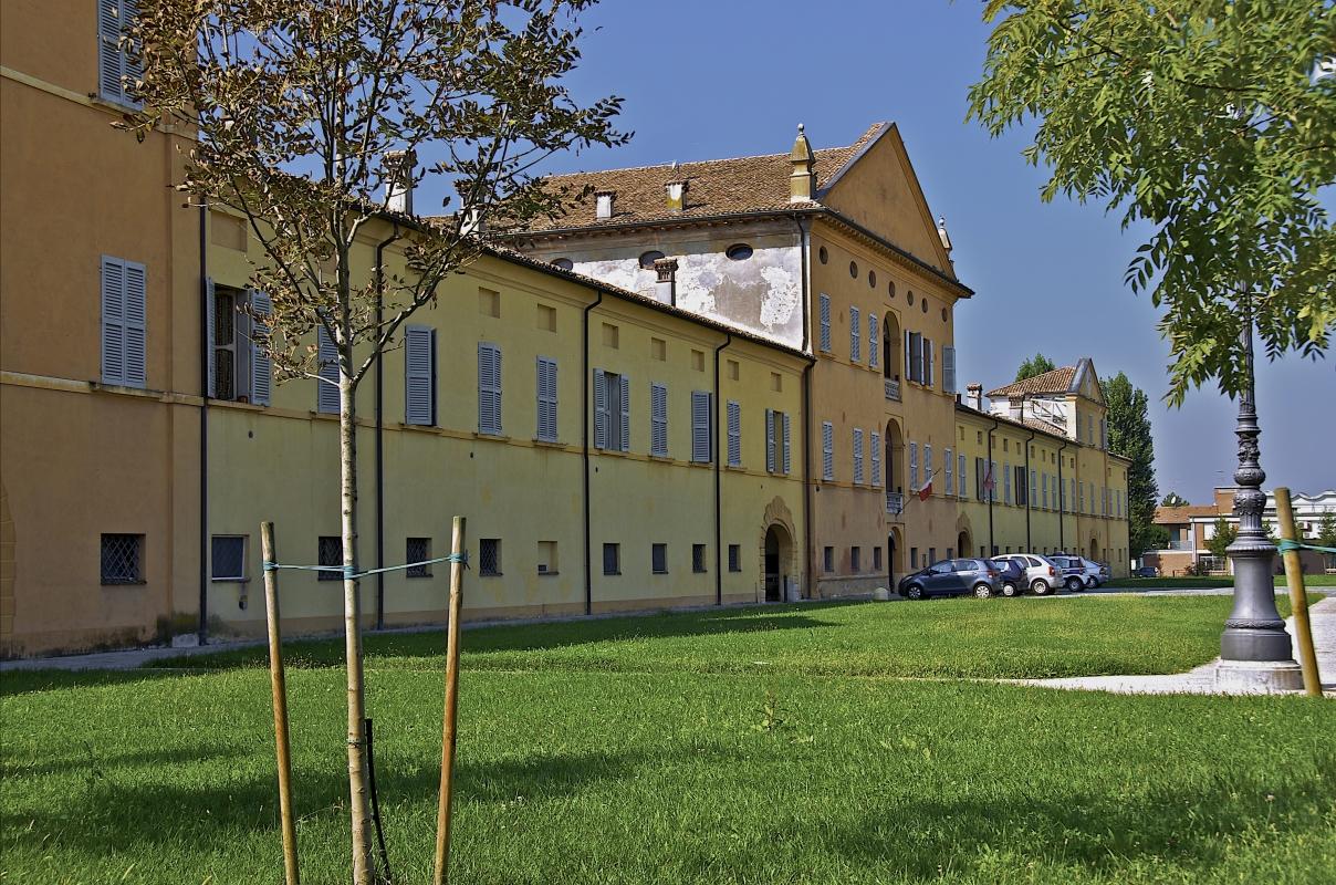 Palazzo Greppi nella frazione di Santa Vittoria - Caba2011 - Gualtieri (RE)