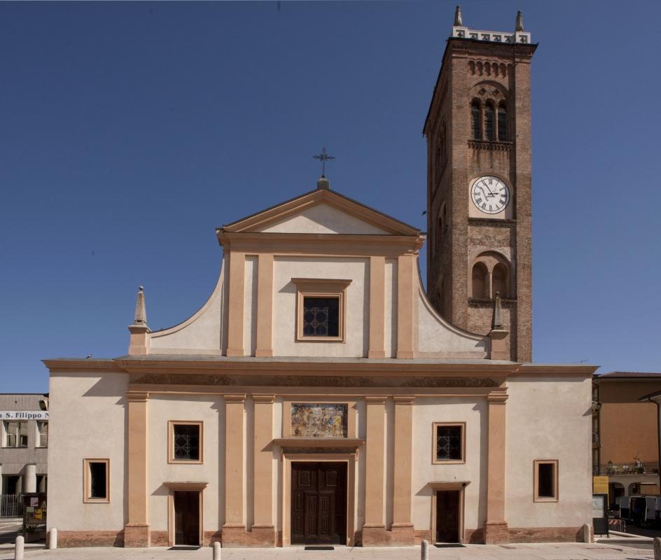 Chiesa di S. Stefano Protomartire- Facciata - Matteo Colla - Poviglio (RE)