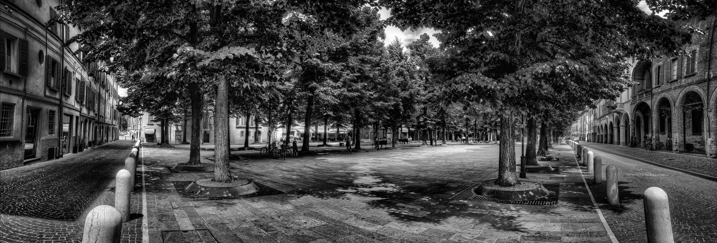 Piazza Fontanesi - Goethe100 - Reggio nell'Emilia (RE)