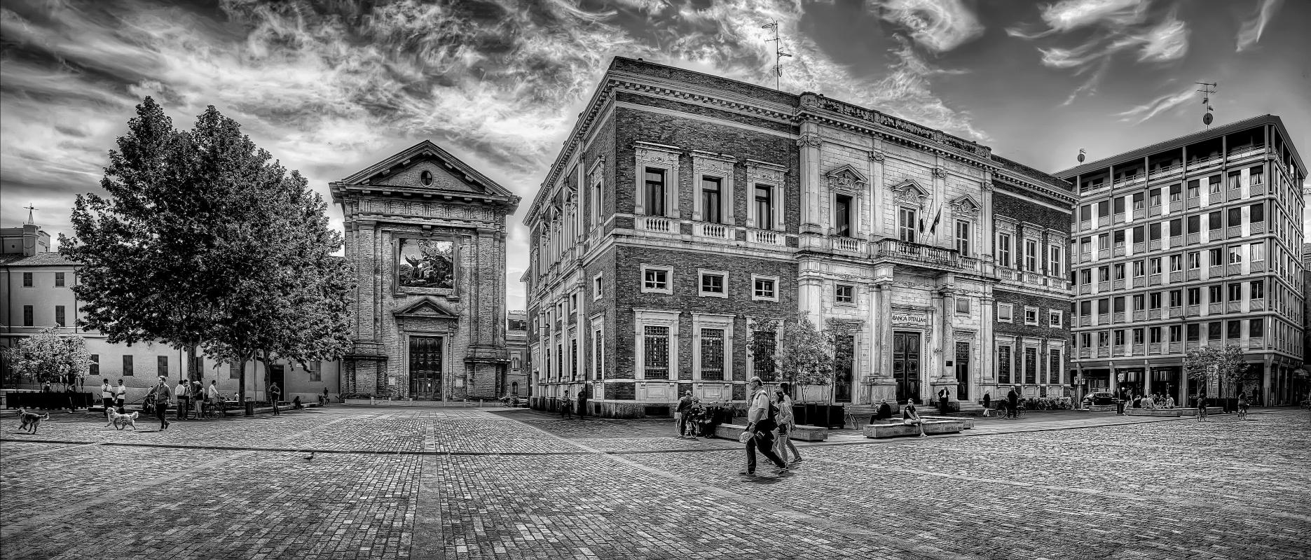 Piazza Martiri 7 Luglio - Goethe100 - Reggio nell'Emilia (RE)