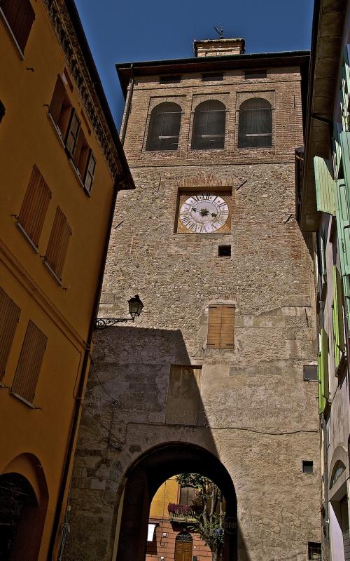 Torre dell'Orologio - XVI Secolo - Caba2011 - Scandiano (RE)