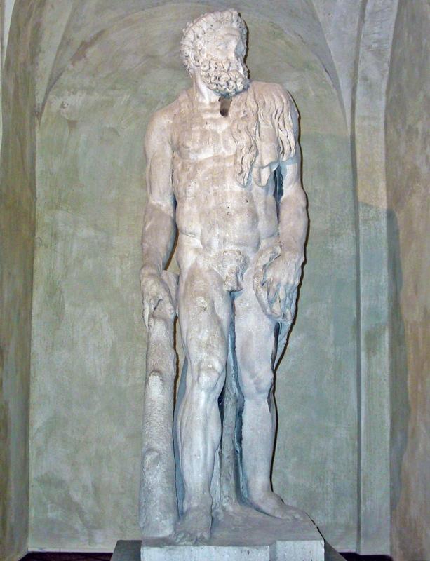 Statua di Ercole del Sansovino - Brixillum - Brescello (RE)