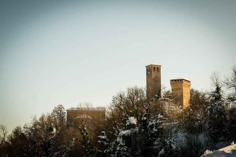Castello di Sarzano innevato - Andrea Incerti - Casina (RE)
