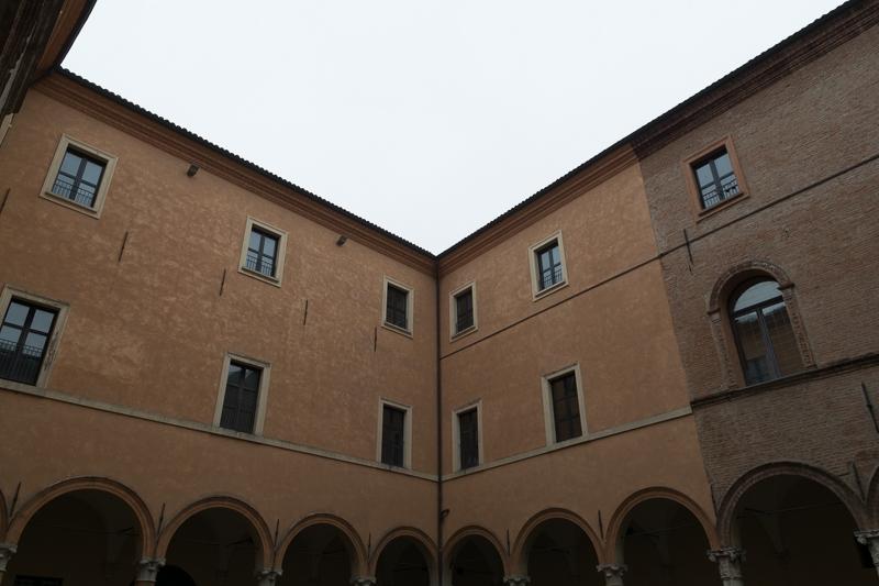 Interno del palazzo dei principi - Andrea Incerti - Correggio (RE)