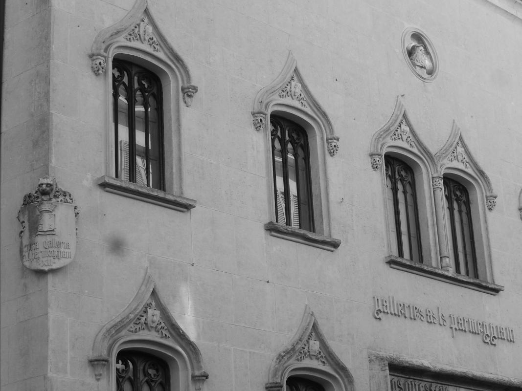 Galleria Parmeggiani, particolari all'ingresso 2 - Luca Gabbi - Reggio nell'Emilia (RE)
