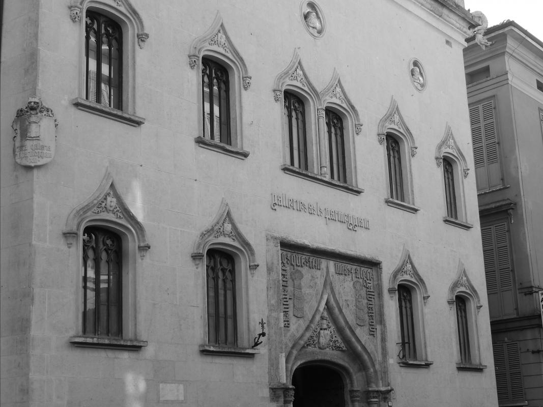 Galleria Parmeggiani, particolari all'ingresso 1 - Luca Gabbi - Reggio nell'Emilia (RE)