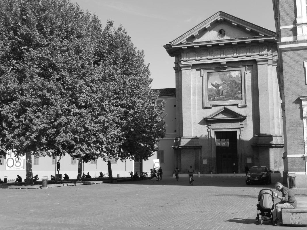 Chiesa di San Francesco in un pomeriggio di fine estate - Luca Gabbi - Reggio nell'Emilia (RE)
