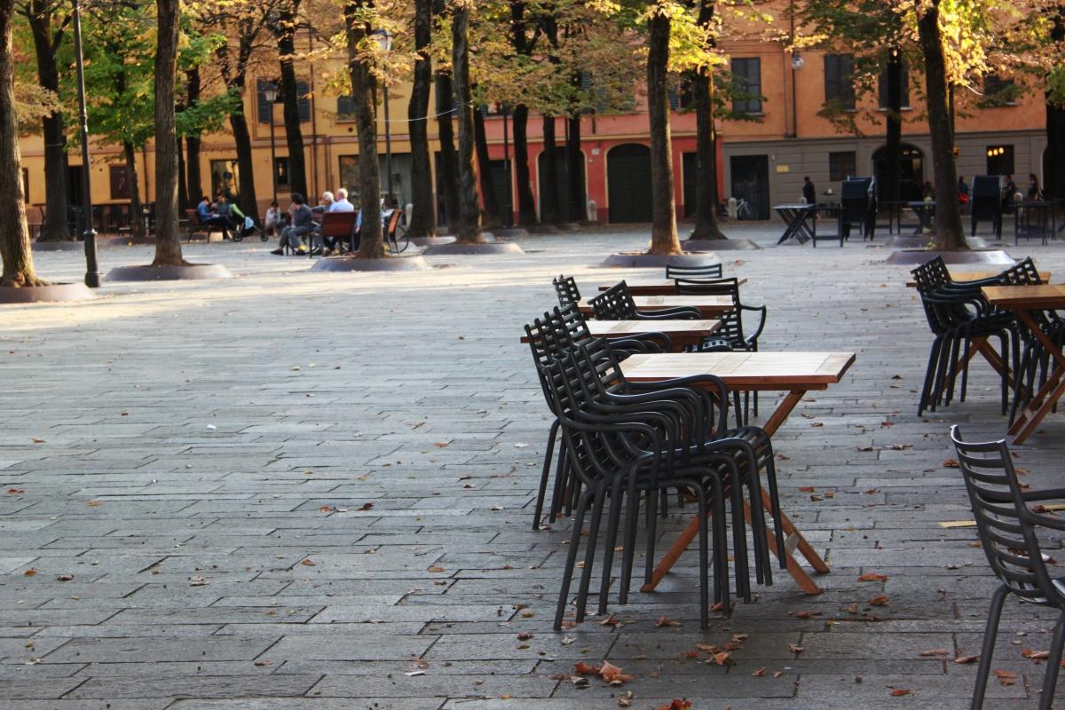 Dettaglio Piazza Fontanesi - Giulia Bonacini Ph - Reggio nell'Emilia (RE)