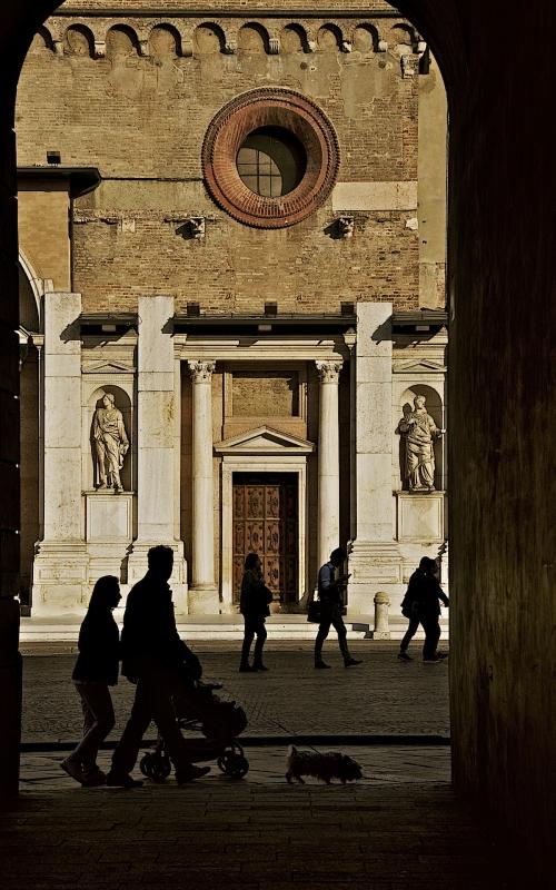 A passeggio in Piazza del Duomo - Caba2011 - Reggio nell'Emilia (RE)